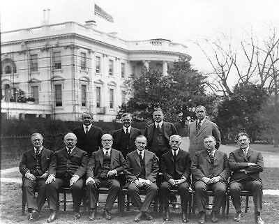 President Calvin Coolidge & Cabinet 8x10 Silver Halide Photo Print