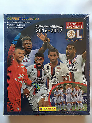 Coffret Edition Collector Panini Olympique Lyonnais 2016 2017 Neuf Mint Sealed