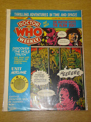 Doctor Who #32 1980 May 21 British Weekly Monthly Magazine Dr Who Dalek Cybermen