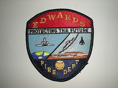 Usaf Edwards Afb Fire Department Patch