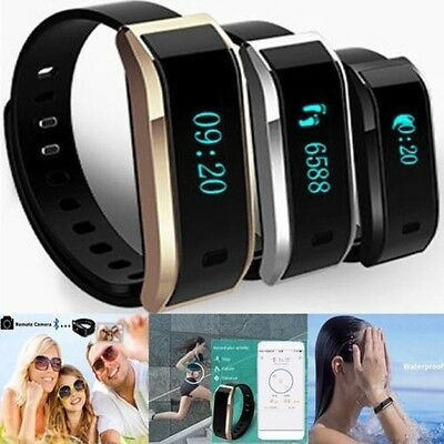 TW07 Armband Bluetooth Smart Armbanduhr Schlaf-Monitor Für iPhone Android