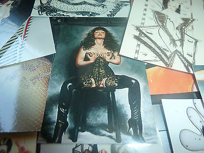1994 - Comic Images -- Olivia 3 - Ladies Leather & Lace -Trade Cards -A3