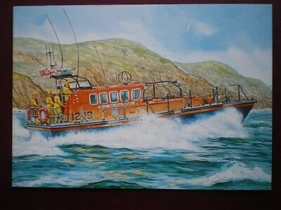 Postcard Lifeboats Sennen Cove Lifeboat 'the Four Boys'