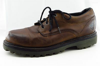 Timberland Men Shoes Size 10 Brown Leather Oxfords