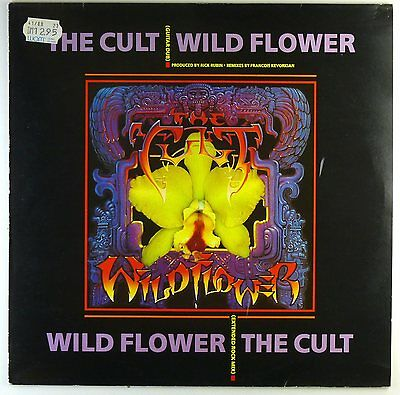 "12"" Maxi - The Cult - Wild Flower - A4491 - RAR - washed & cleaned"