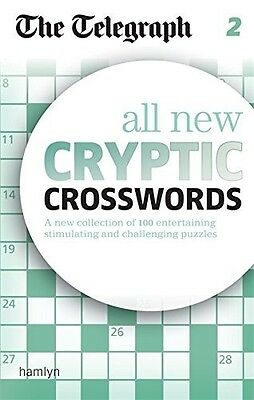 The Telegraph: All New Cryptic Crosswords 2 (The Telegraph Puzzle Books), 060062