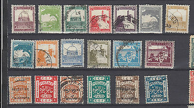 A very nice group of mixed Palestine issues