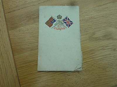 """Ww1 For King & Country Embossed Photo Folder With Photo Of A Girl 6 X 4"""""""
