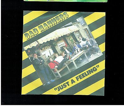 Bad Manners Just A Feeling Ps 45 1980