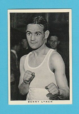 Boxing  -  Wills  -  Scarce  Boxing  Card  -  Benny  Lynch  -  1937