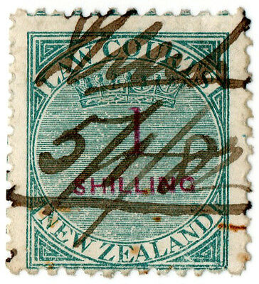 (I.B) New Zealand Revenue : Law Courts 1/-