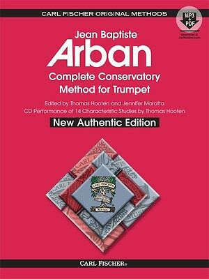 Arban Complete Conservatory Method For Trumpet - Spiralbound Bk/oa O21Xsb New