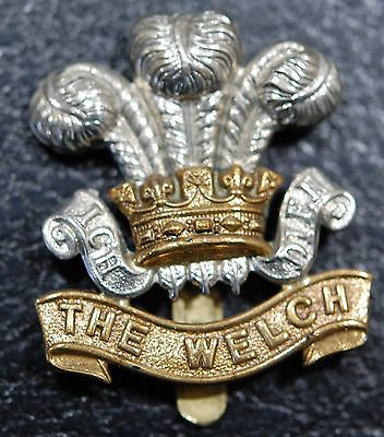 Great Britain-THE WELCH REGIMENT cap badge