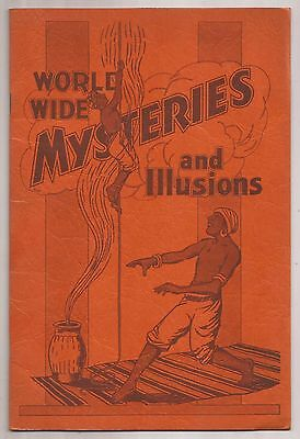 World Wide Mysteries And Illusions Bill Schreiber Promotional Booklet
