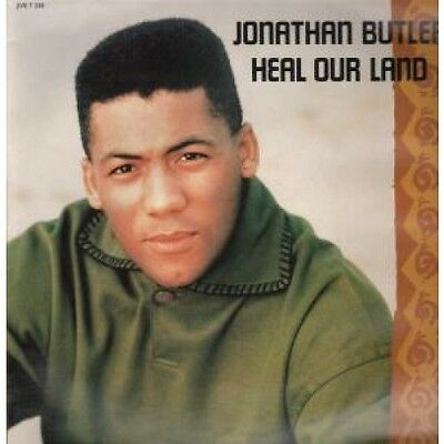 "JONATHAN BUTLER Heal Our Land 12"" VINYL UK Jive 1990 3 Track LP Version B/W 12"