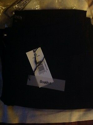 NWT Ladies black bootcut jeans, size 12