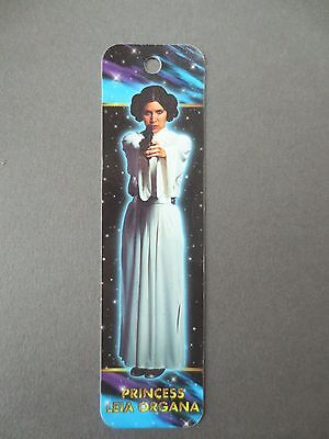 BOOKMARK STAR WARS Carrie Fisher Photograph Princess Leia Antioch 1995