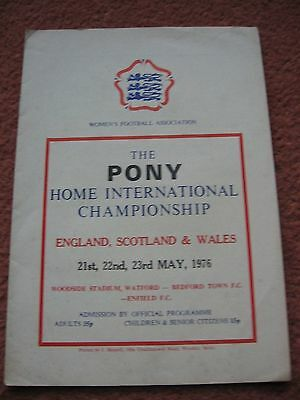 Home International Championships 1976 England, Wales And Scotland