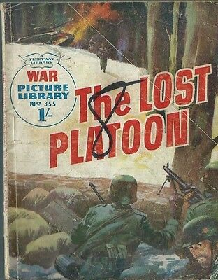 The Lost Platoon,war Picture Library,no.355,war Comic,1966,fleetway