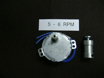 5 - 6  RPM Dryer-Drying Motor with  SHAFT COUPLER