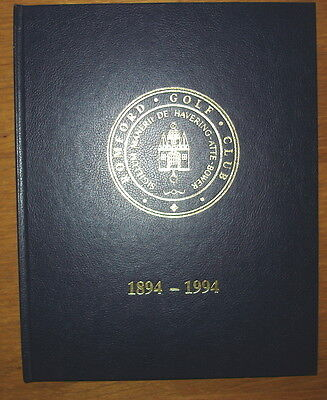 Romford Golf Club. One Hundred Years 1894-1994. 185 pages. Published 1993.