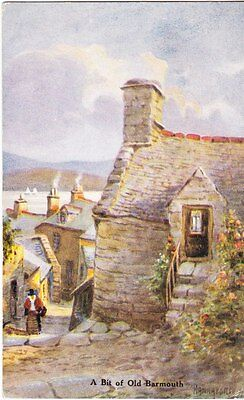 A bit of old Barmouth - artist post card
