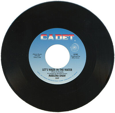 """MARLENA SHAW  """"LETS WADE IN THE WATER""""  STUNNING 60's CLUB CLASSIC       LISTEN!"""