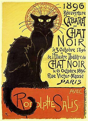 VINTAGE POSTER French Chat Noir Advertising Home Decor Wall Art Posters