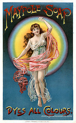 VINTAGE POSTER Advertising Maypole Soap Home Decor Wall Art Posters