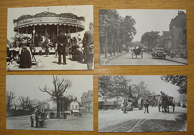 Four 1900s views of Wanstead published in the 1970s/80s. George Lane, High St.