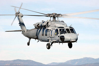 H-60 Knighthawk Helicopter Hc-3 Navy 8x12 Silver Halide Photo Print