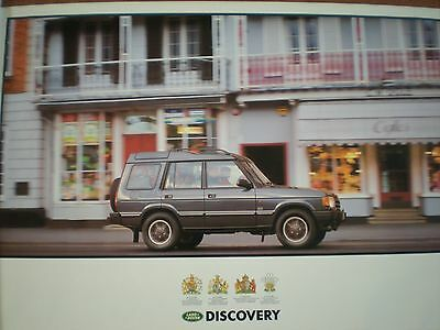 Land Rover Discovery - Large Poster - Genuine