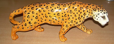 Beswick Large Leopard. 12 inches.Vintage Wild animal English ceramics.Perfect