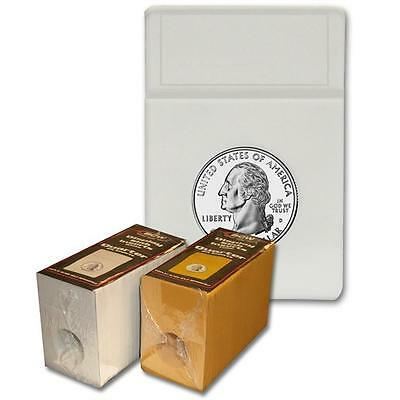 1 Pack of 25 BCW Quarter Coin Storage Display Slab Foam Inserts in White only