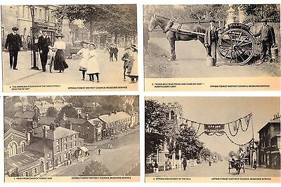 Epping. Nunn's Dairy Cart, Drinking Fountain, High Street. Pub. Museums Service