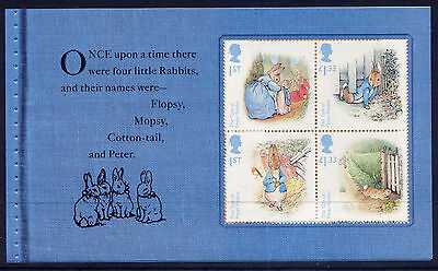 GB 2016 150th ANNIVERSARY of BEATRIX POTTER  BOOKLET PANE from DY19
