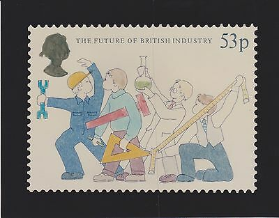 GB STAMPS 1986 INDUSTRY UNATTRIBUTED ORIGINAL ART UNUSED No 15 FROM COLLECTION