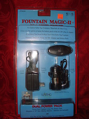 NEW Fountain Magic II Dual Power Pump Kit #1095 for Indoor Table Top Fountains