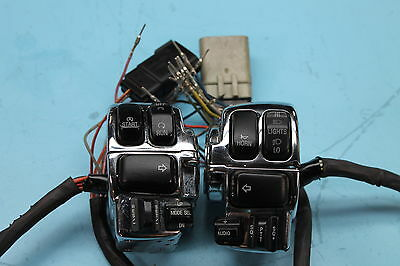 495 10 Harley-Davidson Electra Glide Left Right Forward Control Switch Chrome