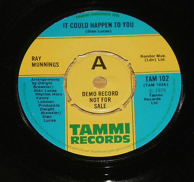 Ray Munnings - It Could Happen To You - Demo - Let's Boogie - 1979 - Excellent