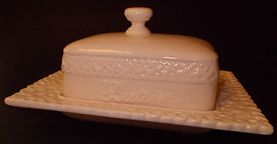 VINTAGE Tea With Alice Butter Dish & Lid Yellow RARE Collectable 5a9tl