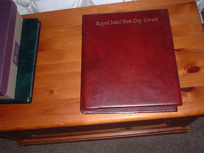 Royal Mail GB First Day Cover Stamp Collection In Album 70 Covers 1988 to 1993