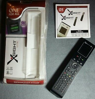 One For All Xsight Lite Universal Remote Control with LCD Colour Display