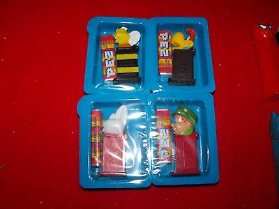 Htf Complete Set Of 4 General Mills Cereal Promos Mini Pez Mint In Packages