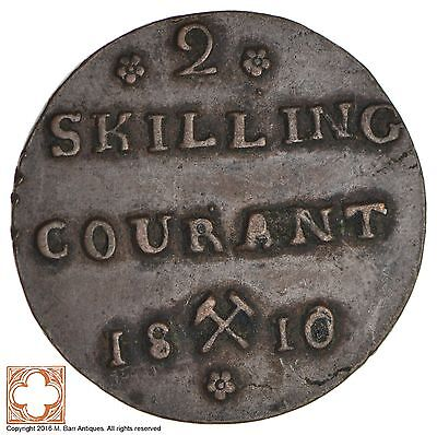 1810 Norway 2 Skilling Courant *9515