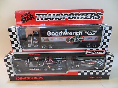 Matchbox Team Convoy Kenworth Transporters & Chevy 1990 'goodwrench Racing' Mib