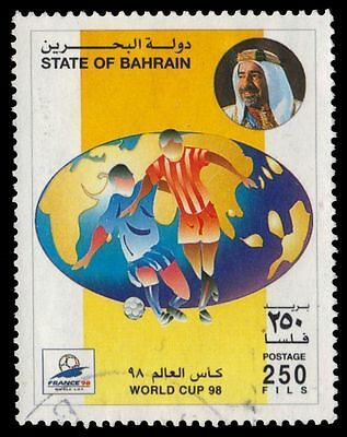 BAHRAIN 513 (Mi662) - France '98 World Cup Football Championships (pa51509)