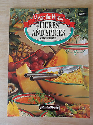 Master The Flavour of Herbs & Spices~Recipes~Cookbook~96pp P/B~1994