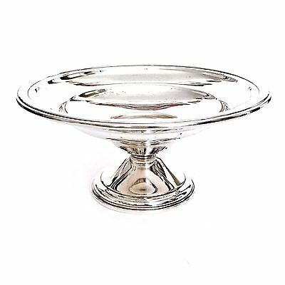 Vintage Antique Sterling Silver Compote Pedestal Dish Footed Bowl 1915 Berkeley