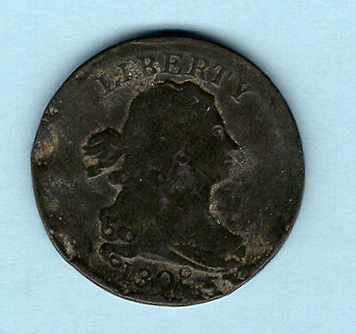 1808 United States Draped Bust Half Cent